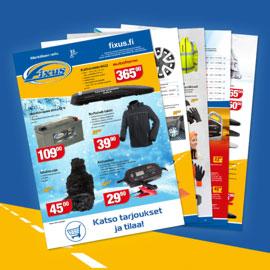 Fixus-lehti tarjoaa parhaat tarjoukset autoiluun vuodenajasta riippumatta.